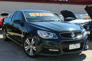 2014 Holden Ute VF MY14 SV6 Ute Green 6 Speed Sports Automatic Utility Cheltenham Kingston Area Preview