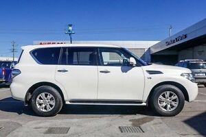 2016 Nissan Patrol Y62 Series 3 TI-L White 7 Speed Sports Automatic Wagon