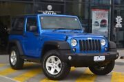 2015 Jeep Wrangler JK MY2015 Sport Blue 5 Speed Automatic Softtop Burnside Melton Area Preview