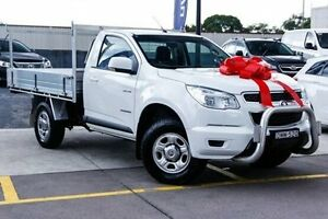 2013 Holden Colorado RG MY13 LX White 6 Speed Sports Automatic Cab Chassis Thornleigh Hornsby Area Preview