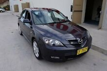 2007 Mazda 3 BK MY06 Upgrade SP23 Charcoal 6 Speed Manual Hatchback Milperra Bankstown Area Preview