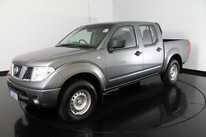 2011 Nissan Navara D40 RX Grey 6 Speed Manual Utility Welshpool Canning Area Preview