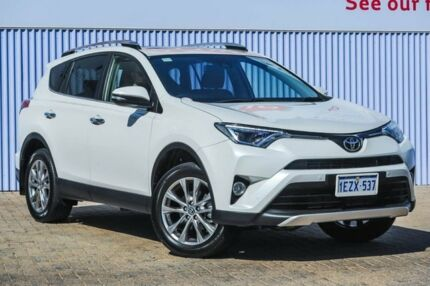 2016 Toyota RAV4 ASA44R Cruiser AWD White 6 Speed Sports Automatic Wagon Morley Bayswater Area Preview