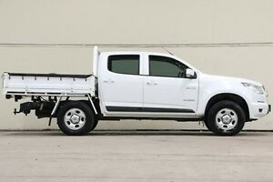 2013 Holden Colorado White Sports Automatic Cab Chassis Vermont Whitehorse Area Preview