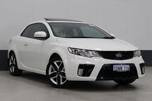 2012 Kia Cerato TD MY12 Koup SLS White 6 Speed Manual Coupe Bentley Canning Area Preview
