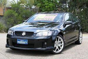 2008 Holden Commodore VE SS Black 6 Speed Manual Sedan Underwood Logan Area Preview