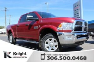 2015 Ram 2500 SLT - Sunroof - 40/20/40 Split Front Bench - Remot