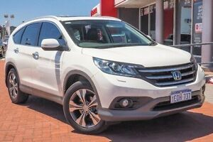 2014 Honda CR-V RM MY15 VTi-L 4WD White 5 Speed Sports Automatic Wagon Midland Swan Area Preview