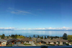 Great funished ocean view legal suite in North Nanaimo