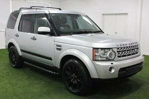2012 Land Rover Discovery 4 Series 4 MY12 SDV6 CommandShift HSE Silver 6 Speed Sports Automatic Moonah Glenorchy Area Preview
