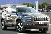 2017 Jeep Cherokee KL MY17 Trailhawk Grey 9 Speed Sports Automatic Wagon Adelaide CBD Adelaide City Preview