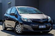 2013 Toyota Yaris NCP130R YR Silver 4 Speed Automatic Hatchback Osborne Park Stirling Area Preview