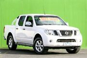 2013 Nissan Navara D40 S5 MY12 ST-X 550 White 7 Speed Sports Automatic Utility Ringwood East Maroondah Area Preview