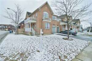 Gorgeous 4 Bedroom End Unit Free Hold Town Home
