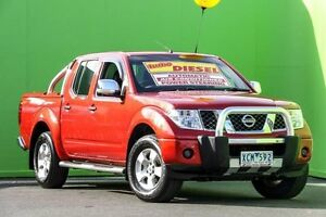 2008 Nissan Navara D40 ST-X Tuscan 5 Speed Automatic Utility Ringwood East Maroondah Area Preview