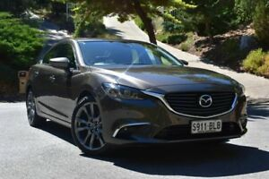 2016 Mazda 6 GJ1032 GT SKYACTIV-Drive Bronze 6 Speed Sports Automatic Sedan St Marys Mitcham Area Preview