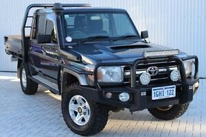 2014 Toyota Landcruiser VDJ79R GXL Double Cab Grey 5 Speed Manual Cab Chassis Embleton Bayswater Area Preview