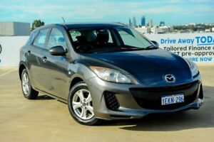 2013 Mazda 3 BL10F2 MY13 Neo Grey 6 Speed Manual Hatchback Osborne Park Stirling Area Preview