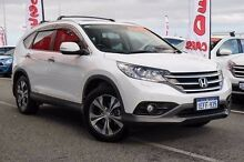 2013 Honda CR-V 30 VTi-L (4x4) White 5 Speed Automatic Wagon Wangara Wanneroo Area Preview