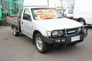 2000 Holden Rodeo TF R9 DX Silver 5 Speed Manual Cab Chassis Heatherton Kingston Area Preview