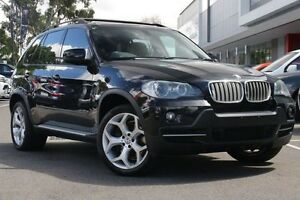 2008 BMW X5 E70 SD Steptronic Black 6 Speed Sports Automatic Wagon Mill Park Whittlesea Area Preview