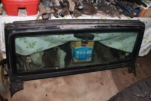 Project Jeep TJ windshield frame with good glass