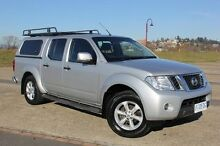 2011 Nissan Navara D40 MY11 ST-X Silver 6 Speed Manual Utility Derwent Park Glenorchy Area Preview