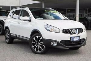 2013 Nissan Dualis J107 Series 4 MY13 +2 White 6 Speed Constant Variable Hatchback Osborne Park Stirling Area Preview