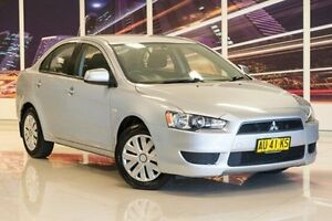 2007 Mitsubishi Lancer CJ MY08 ES Silver 6 Speed Constant Variable Sedan Blacktown Blacktown Area Preview