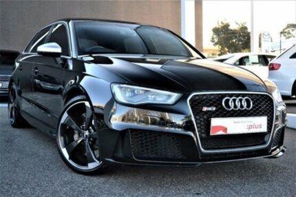 2016 Audi RS 3 8V MY16 Sportback S tronic quattro Black 7 Speed Sports Automatic Dual Clutch