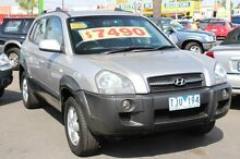 2005 Hyundai Tucson Elite Silver 4 Speed Auto Selectronic Wagon Heatherton Kingston Area Preview