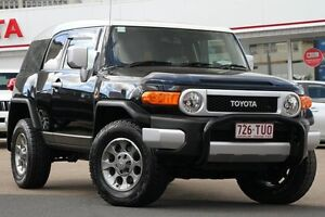 2013 Toyota FJ Cruiser GSJ15R Black/Grey 5 Speed Automatic Wagon Woolloongabba Brisbane South West Preview