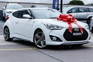 2014 Hyundai Veloster FS3 SR Coupe Turbo White 6 Speed Sports Automatic Hatchback Thornleigh Hornsby Area Preview