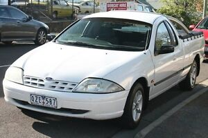2001 Ford Falcon Auii XL SE White 4 Speed Automatic Utility Briar Hill Banyule Area Preview