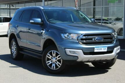 2016 Ford Everest UA Trend 4WD Blue 6 Speed Sports Automatic Wagon Osborne Park Stirling Area Preview