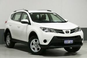 2014 Toyota RAV4 ZSA42R MY14 Upgrade GX (2WD) White Continuous Variable Wagon