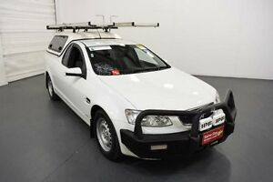 2010 Holden Commodore VE II Omega White 6 Speed Automatic Utility Moorabbin Kingston Area Preview
