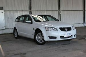 2011 Holden Commodore VE II Omega Sportwagon White 6 Speed Sports Automatic Wagon Derwent Park Glenorchy Area Preview