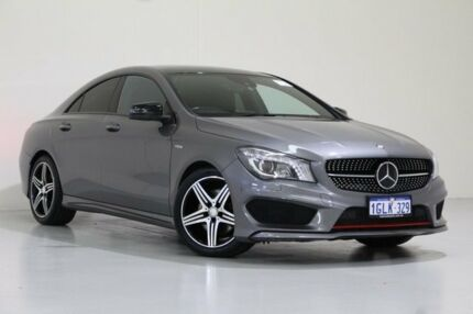2014 Mercedes-Benz CLA 117 250 Sport 4Matic Graphite 7 Speed Automatic Coupe