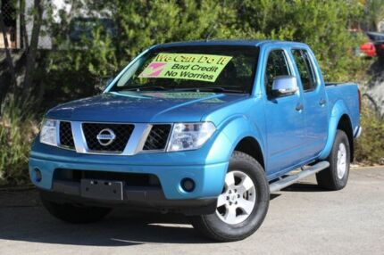 2009 Nissan Navara D40 ST-X Blue 6 Speed Manual Utility