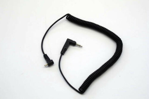 PocketWizard PC Long Tip to Miniphone Male Sync Cord (Coiled 36 inch)