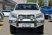 2015 Toyota Hilux GUN126R SR5 Double Cab White 6 Speed Sports Automatic Utility Midland Swan Area Preview