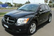 2008 Dodge Caliber PM SXT Black 6 Speed Constant Variable Hatchback West Footscray Maribyrnong Area Preview