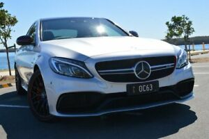 2015 Mercedes-AMG C63 S C Edition 1 Silver 7 Speed Automatic Sedan Ashmore Gold Coast City Preview