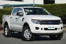 2012 Ford Ranger PX XL Double Cab Cool White 6 Speed Manual Utility Acacia Ridge Brisbane South West Preview
