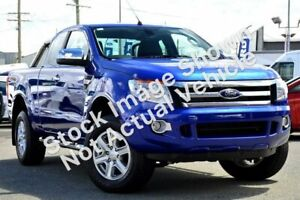 2014 Ford Ranger PX XLT Super Cab Metropolitan Grey 6 Speed Manual Utility Clarkson Wanneroo Area Preview