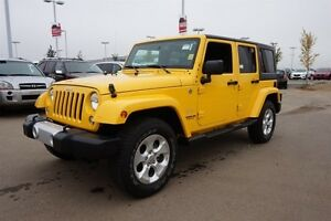 2015 Jeep Wrangler Unlimited 4X4 SAHARA UNLIMITED Navigation (GP