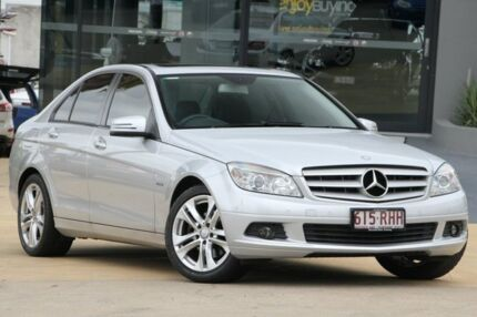 2010 Mercedes-Benz C200 CGI W204 MY10 Classic Silver 5 Speed Sports Automatic Sedan Yeerongpilly Brisbane South West Preview