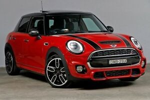 2016 Mini Hatch F55 Cooper S Chilli Red 6 Speed Sports Automatic Hatchback Alexandria Inner Sydney Preview