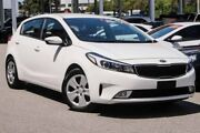 2016 Kia Cerato YD MY17 S White 6 Speed Sports Automatic Hatchback Glendalough Stirling Area Preview